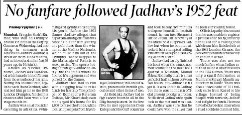 Article_Times of India_Jadhav_210808.JPG