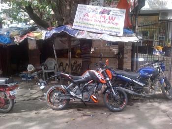 inde,blog,lèche-roue,poste,colis,garde-boue,ktm,moto