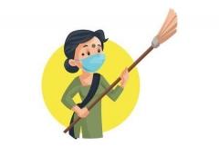 inde,corona,coronavirus,virus,covid,épidémie,aarogya setu appli,masques,maids,domestique,femme de ménage