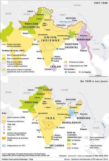 Inde,Cachemire,Kashmir,Indus,Pakistan,Chine,Modi,crise de l'eau,barrages