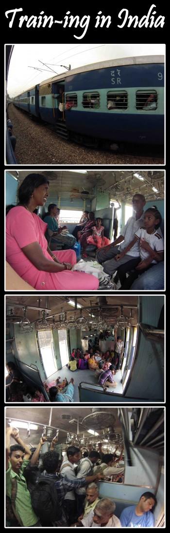 Inde,voyager,train