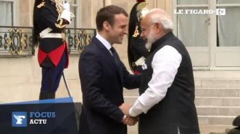 Inde,Macron,Modi,visite,Elysée