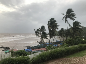 inde,goa,mousson,pluie,plage,août,swapnagandha
