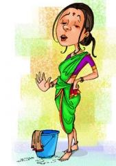 Inde,india,maids,domestiques,employés de maison,chauffeur,femme de ménage,cuisinière