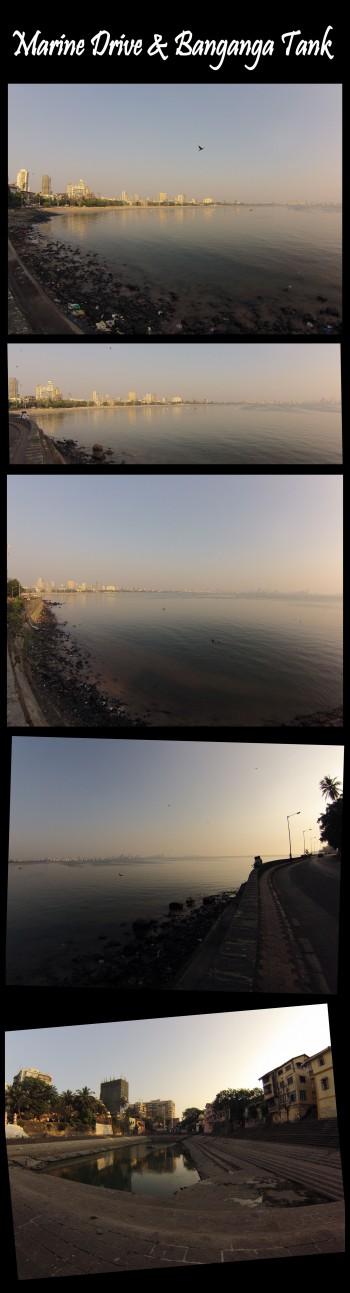 Inde,Mumbai,collier de la reine,Chowpatty beach