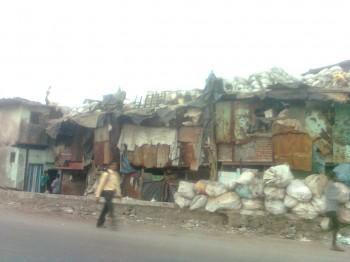 Bidonville,slum