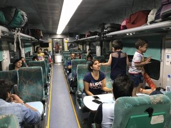 Inde,voyage,train,bruit,pets