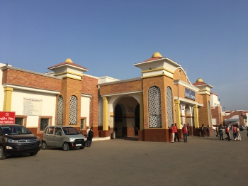 Inde,Uttar Pradesh,Bareilly,train,gare