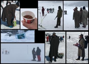 Inde,Kashmir,Jammu,Cachemir,Gulmarg,ski,skier en Inde, neige,terrorisme.Srinagar,houseboat,dal lake,nigeen lake