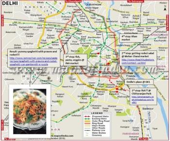 inde,livre d'or,delhi,marché,nature's basket,ina,cuisiner,roquette,produits frais,poissons
