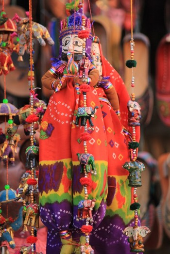 Inde,Jaipur,Marionettes