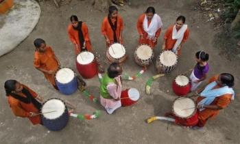 Inde,hindouisme,religion,festival,Navratri,Durga