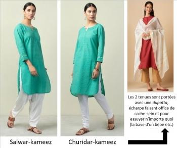 inde,vêtements,pyjama,pajama,salwar,kameez,hurta,churidar,dormir