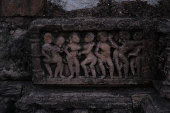 Inde,rajasthan,sariska,réserve de tigres,bhangarh fort