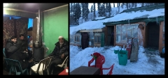 Inde,Kashmir,Jammu,Cachemir,Gulmarg,ski,skier en Inde, neige,terrorisme