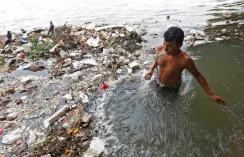 inde,pollution,rivières,yamuna,gange,polluants